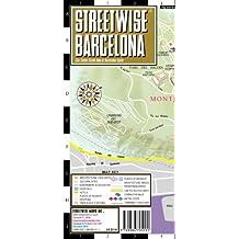 Streetwise Barcelona Map - Laminated City Street Map: Folding Pocket Size Travel Map