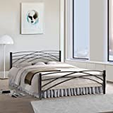 FurnitureKraft Denver Metal Queen Size Double Bed