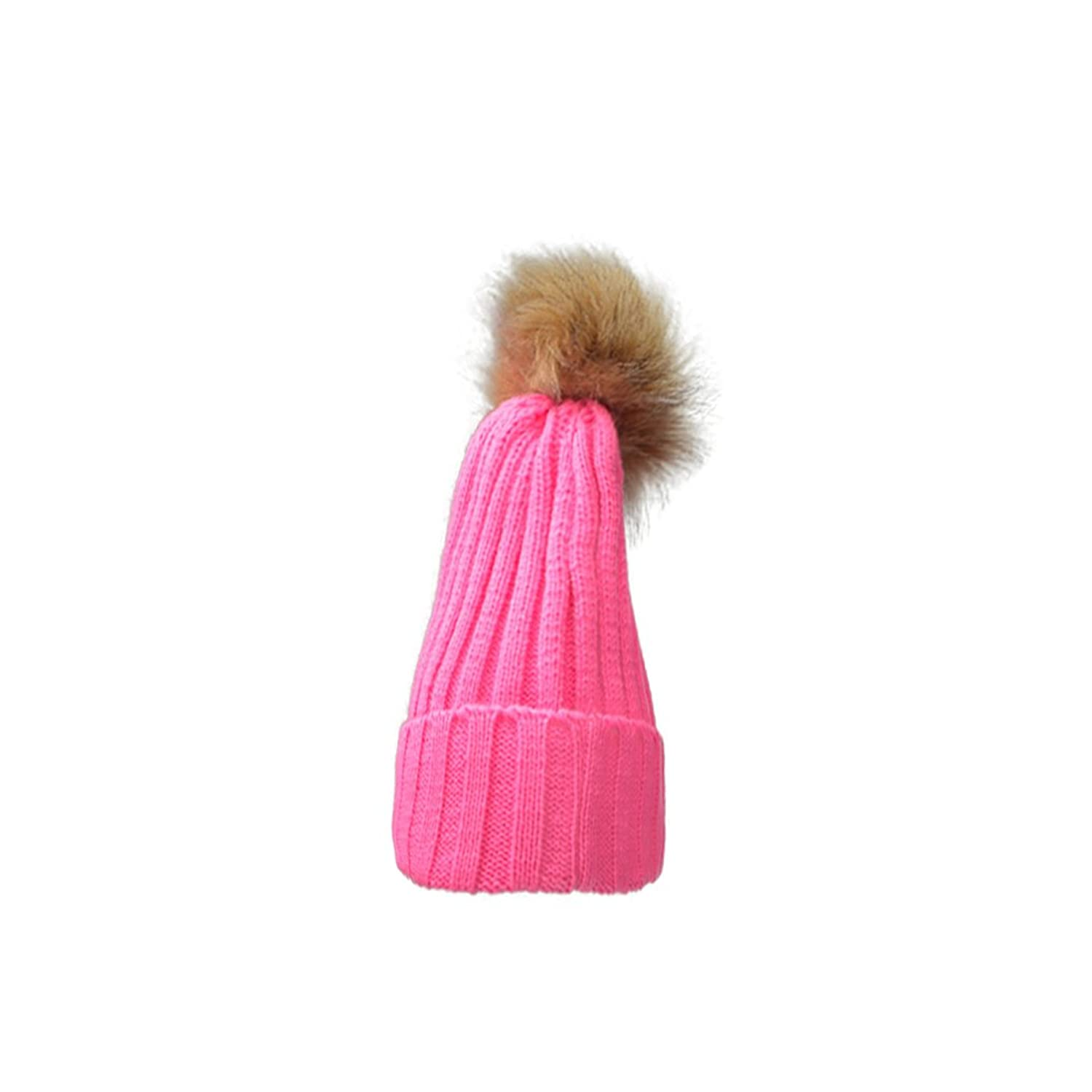 Runboo reizend Frauen-Winter-warme Geflochtene Crochet Knitting Hut-Mädchen Cap Beret Ski Beanie-Ball-Hut