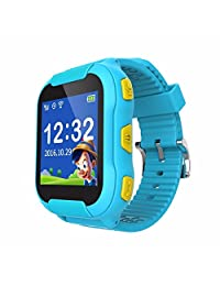 TechComm V15 Kids GSM Unlocked Smartwatch with Built-in Microphone, Built-in Speaker and SOS