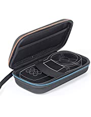 Harde EVA Case voor Anemometer Reizen Beschermende Draagtas voor Anemometer/Gereedschap/Multimeter/Lux Meter 18.8 * 10.9 * 5.8cm, Zwart