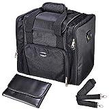 AW 13'' 1200D Oxford Soft Make Up Train Case Bag Artistic Cosmetic Organizer Box Portable Professional