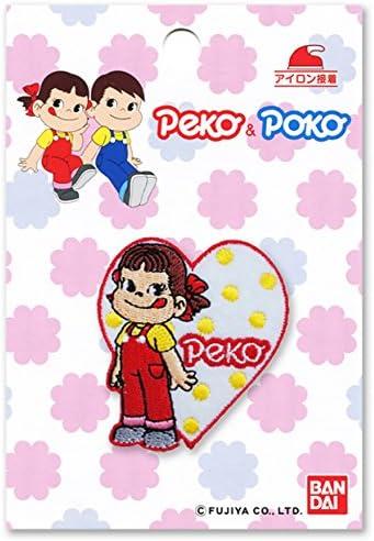 パイオニア ワッペン 不二家 Peco&Poco ペコちゃん FJ550-FJ05