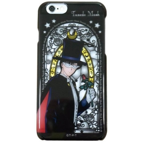 Six Celebration Tuxedo - Sailor Moon Character Stained Glass Style Case for iPhone 6 (Tuxedo Mask)