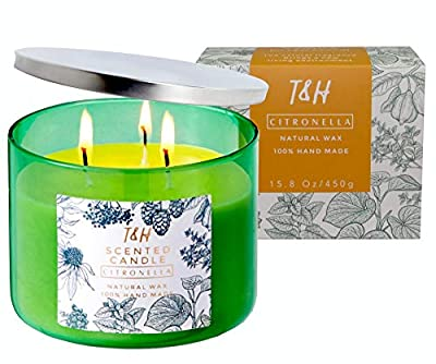 Citronella Candles Outdoor Indoor