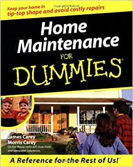 Book Home Maintenance for Dummies