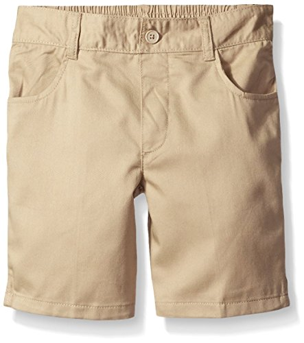 French Toast Girls Plus Size' Pull-on Short, Khaki, 10.5 by French Toast