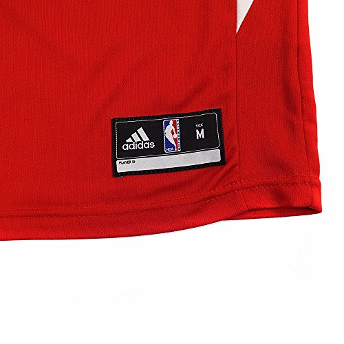 05b95fd688c Amazon.com   Jamal Crawford Los Angeles Clippers NBA Adidas Boys Red  Official Road Replica Basketball Jersey   Sports   Outdoors
