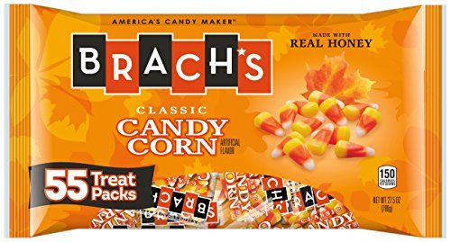 Brach's Candy Corn Treat Packs, 55 0.5 Ounce Packs, 27.5 Total Ounces