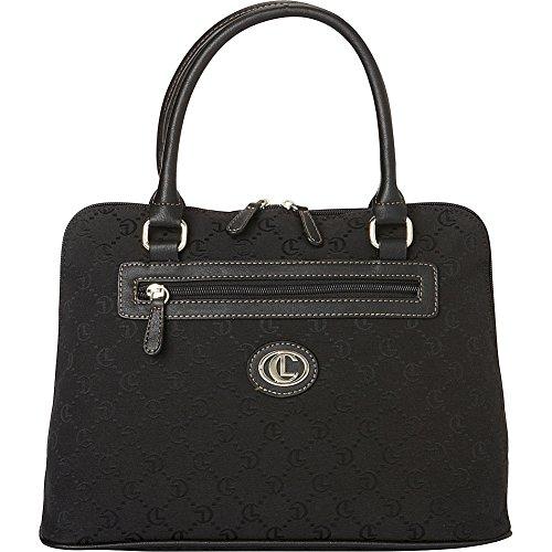 aurielle-carryland-classic-signature-jacquard-satchel-black-black