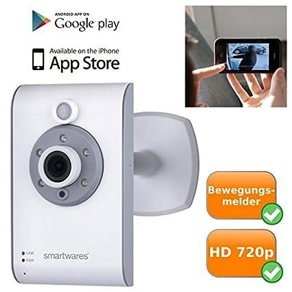Alta calidad Wifi IP de vídeo cámara de vigilancia para interiores, visión nocturna, plug