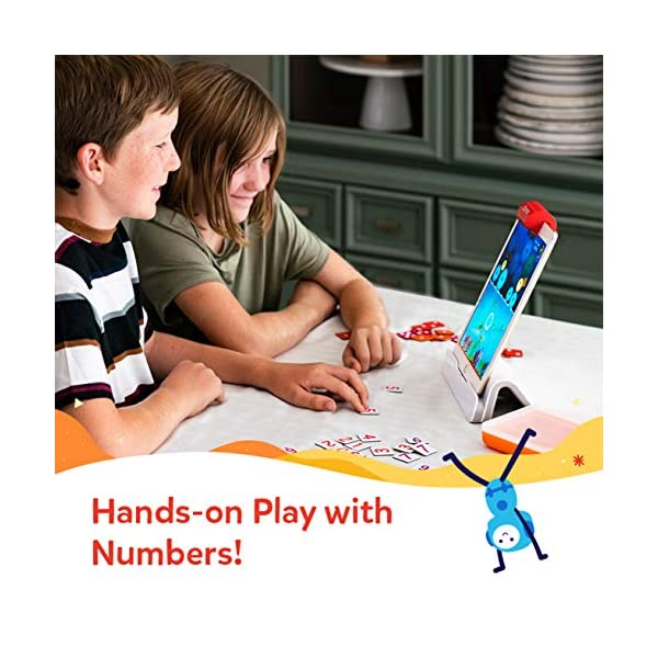 Osmo Numbers Game Giocattoli educativi, Colore Bianco, 902-00021 4 spesavip