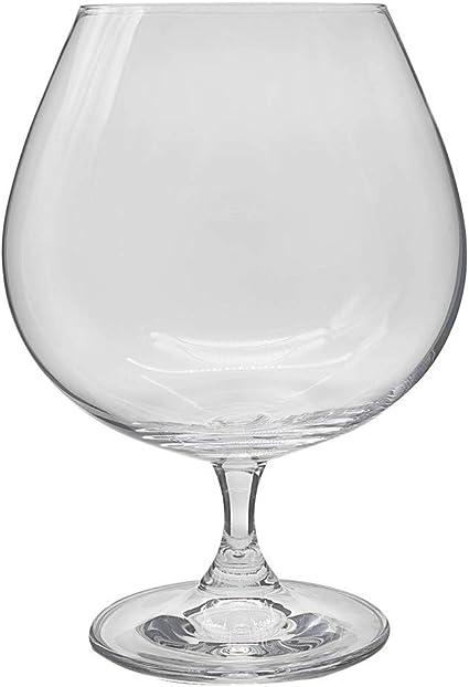 la galaica | Set de 1 Copa de Cristal para Coñac o Brandy - Colección Gastro | Regalo Ideal para Bodas o 25 y 50 Aniversarios