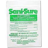 Diversey 90234 Sani Sure Soft Serve Sanitizer & Cleaner, Powder, 1 oz. Packet (Case of 100)
