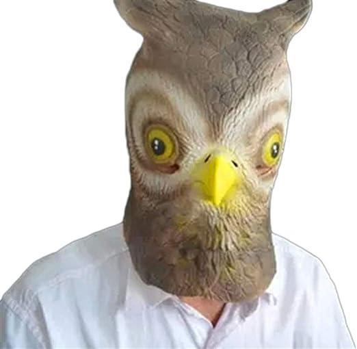 MYASOB Máscara de Disfraz de búho Adorable para Halloween ...