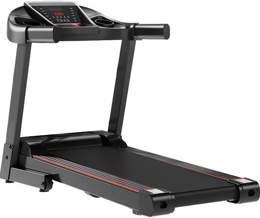 CffdoiPBJI Folding Ttreadmill, Ultra-Quiet Home Treadmill Models, Small Single-Function Electric Treadmill, Indoor Fitness