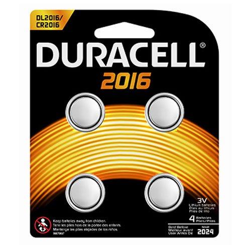 Procter & Gamble 66389 DURA4PK 3V 2016 Battery