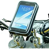 Waterproof Galaxy Note II 2 Motorcycle Handlebar Mount (sku 16148)