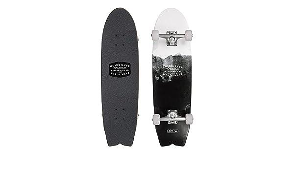 Quiksilver QS Pixeled Skateboard Unisex Negro