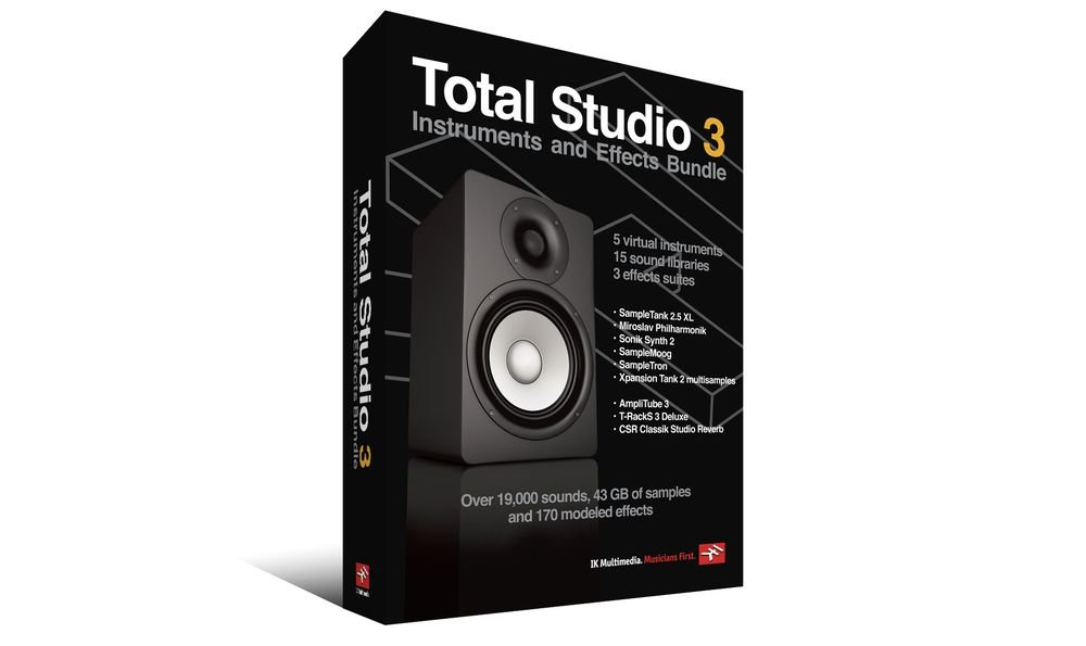 IK Multimedia Total Studio 3 Bundle (Download)