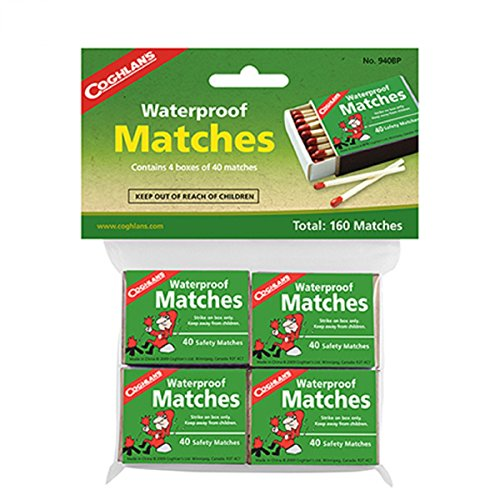 (コフラン)COGHLANS 防水マッチ 4個セットの商品画像