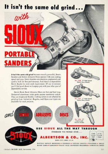 1956-ad-sioux-albertson-portable-sander-abrasive-discs-power-tool-resin-bond-original-print-ad