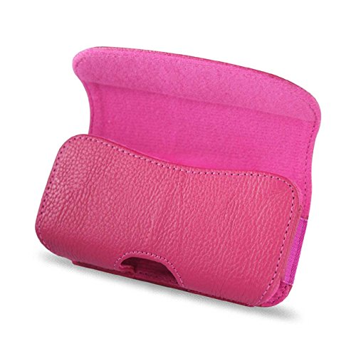 Reiko Horizontal Pouch HP18A for BlackBerry 8330 - Retail Packaging - Pink