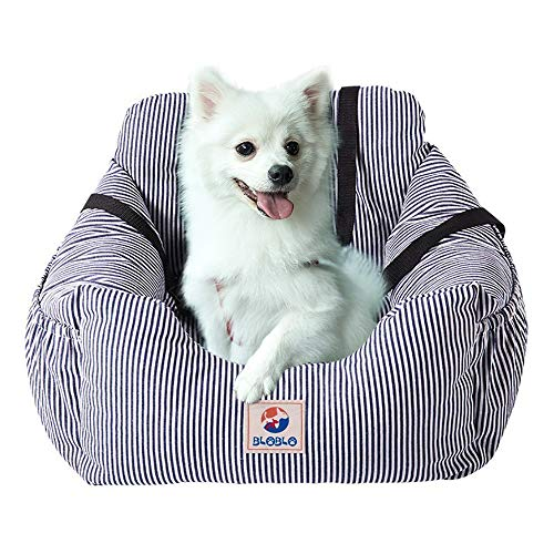 - Dog Car Seat Pet Booster Seat Pet Travel Safety Car Seat Dog Bed for Car with Storage Pocket