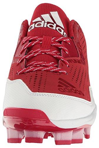 Softball Shoe Poweralley White Power 4 Performance Tpu White adidas Women's Red W 0wYFn1x