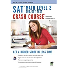 SAT Subject Test™: Math Level 2 Crash Course Book + Online (SAT PSAT ACT (College Admission) Prep)