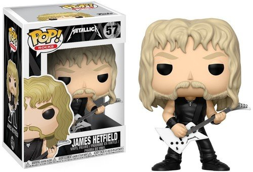 Funko Pop! Rocks: Metallica - James Hetfield Collectible Figure