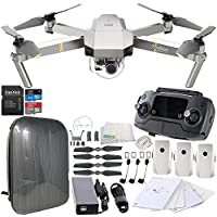 DJI Mavic Pro Platinum Collapsible Quadcopter Hardshell Backpack Ultimate Bundle