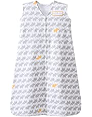 Halo Innovations SleepSack Cotton Elephant Graphics, Grey, XL