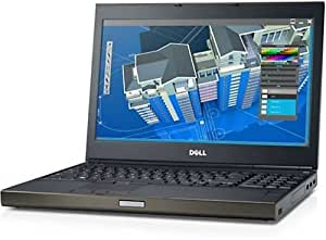 "Dell Precision M4800 15.6"" HD Ultrapowerful Mobile Workstation, Intel Core i7-4810MQ up to 3.8GHz, 8GB RAM, 500GB HDD, AMD Radeon HD 8870M, Webcam, DVD, Windows 7 Professional (Certified Refurbished)"