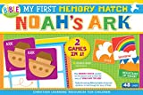 My First Memory Match Game: Noah's Ark: 2 Games in 1