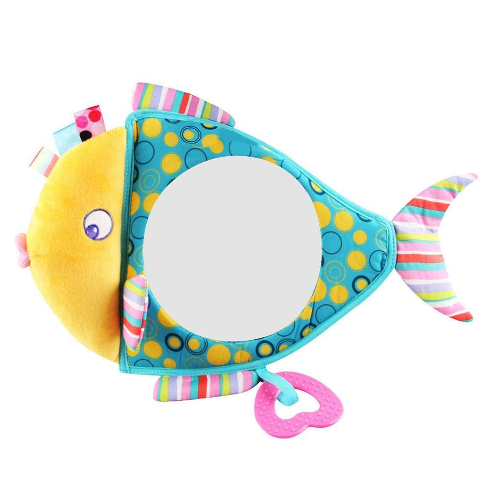 Amazingdeal Adjustable Baby Car Back Seat Mirror Kids Fish Plush Safety View Monitor by Amazingdeal