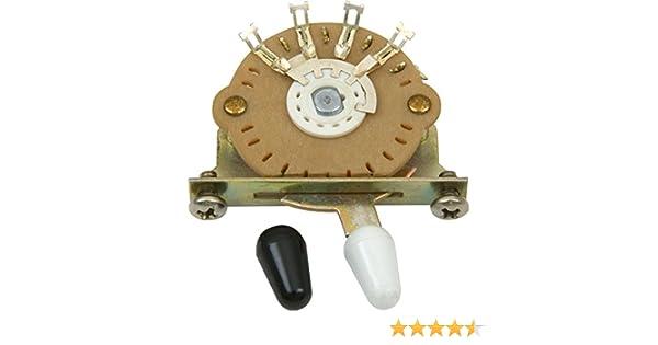 DiMarzio EP1104 - Selector de pastilla para guitarra, 5 posiciones: Amazon.es: Instrumentos musicales