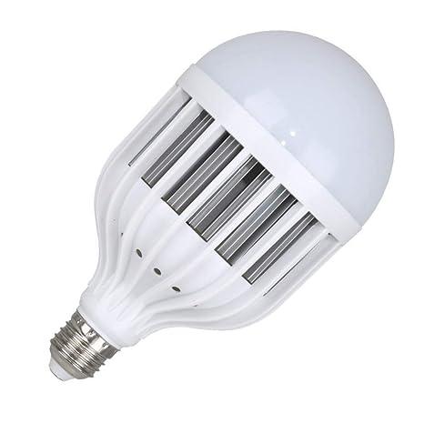 Bombilla LED de alta potencia súper brillante E27 tornillo cabeza redonda jaula de pájaros bombilla 65W