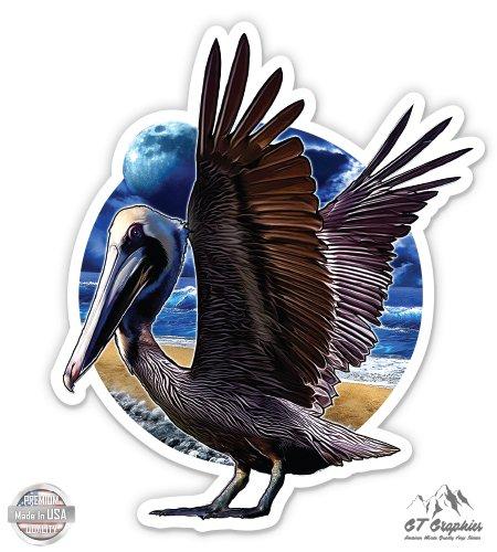 Vinyl Sticker Waterproof Decal GT Graphics Pelican