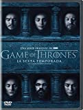 Game Of Thrones Sexta Temporada Version En Espanol DVD Region 1, 3 y 4 (5 DVDs)