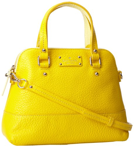 kate spade new york Maise PXRU2969 Shoulder Bag,Donovan Yellow/Pale Moonshine,One Size, Bags Central