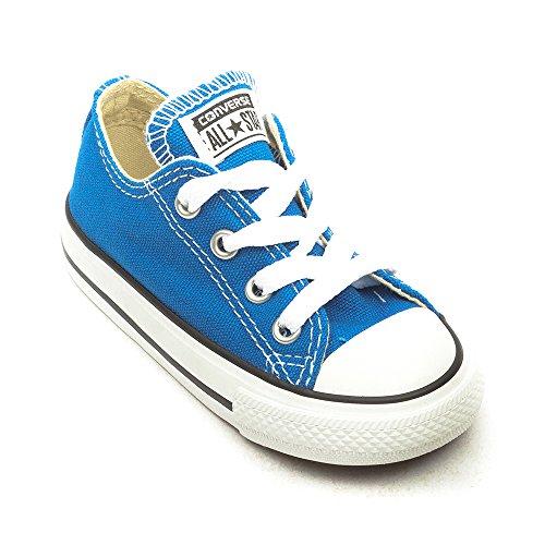 ConverseChck Taylor All Star Ox - Stivaletti Unisex adulti, blu (Blue - Blue), 20 EU Bambini