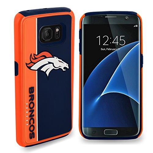 Forever Collectibles Samsung Galaxy S8 Dual Hybrid Bold Case - NFL Denver Broncos