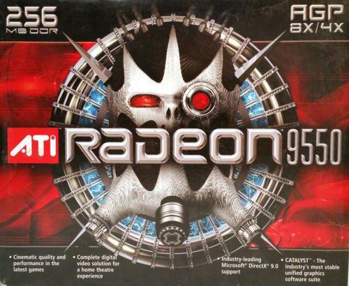 (ATI 100437105 ATI Radeon 9550 256MB DDR SDRAM AGP 4x/8x (100-437105) 0727419411875)
