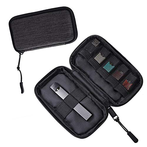 Carrying Case Wallet Compatible with The JUUL,SWEE Outdoor Carry Bag Traveling Bag with Net Bag (Device not Included)