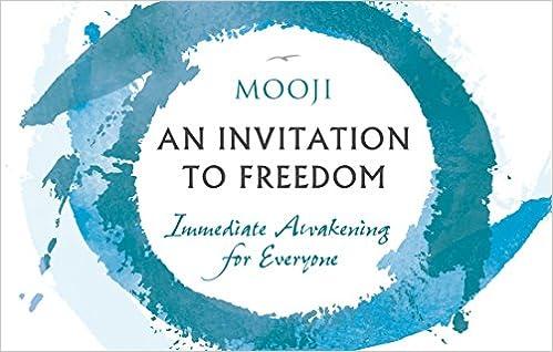 An Invitation To Freedom Immediate Awakening For Everyone Amazonde Mooji Fremdsprachige Bucher