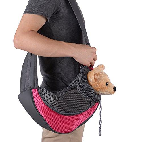 Botokon Small Dog Cat Pet Breathable Mesh Travel Carrier ...
