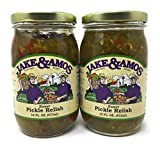 amish pickles - Jake & Amos Sweet Pickle Relish / 2 - 16 Oz. Jars