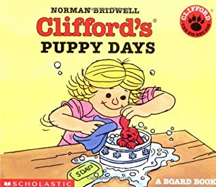 book cover of Clifford\'s Puppy Days