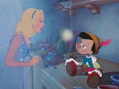 Pinocchio (Two-Disc 70th Anniversary Platinum Edition Blu-ray/DVD Combo + BD Live) [Blu-ray] by Buena Vista Home Video